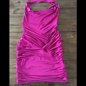 Arden B Magneta Dress